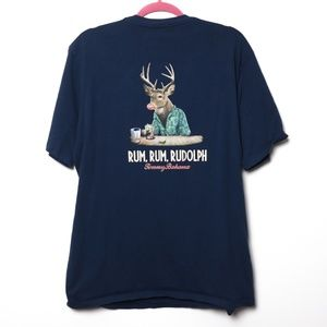 Tommy Bahama | Relax Holiday Graphic Tee L
